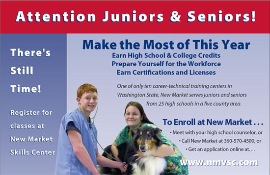 Enroll at New Market Skills Center